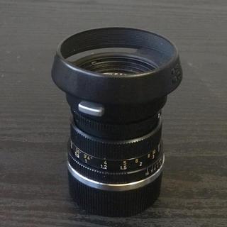 ライカ(LEICA)のズミクロン  50mm 2nd 純正フィルター フード付き(レンズ(単焦点))