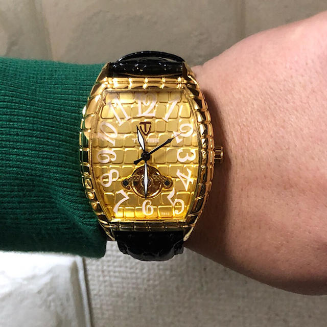 ヴァシュロン・コンスタンタン時計スーパーコピーs級 / 【新品】TEVISE ブランド 高級腕時計機械式 18K GOLD デカめ文字盤の通販 by MICCHI☆ISM no.2|ラクマ