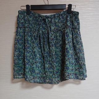 ローリーズファーム(LOWRYS FARM)の花柄ミニスカート(ミニスカート)