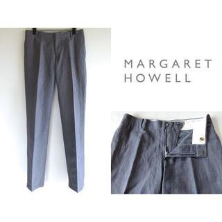 マーガレットハウエル(MARGARET HOWELL)のマーガレットハウエル コットンリネンシャンブレーパンツ Ⅲ 春夏(その他)