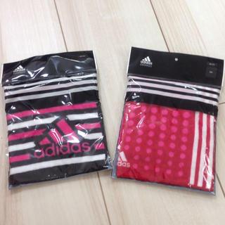 アディダス(adidas)の新品adidas♡ハンドタオルセット(タオル/バス用品)