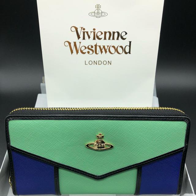 Vivienne Westwood - 【新品・正規品】ヴィヴィアンウエストウッド 長財布 317 グリーンマルチの通販 by NY's shop|ヴィヴィアンウエストウッドならラクマ