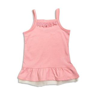ブリーズ(BREEZE)の★新品★ ブリーズ 裾フレアキャミソール チュール付き ピンク色 110サイズ(その他)