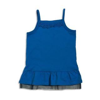 ブリーズ(BREEZE)の★新品★ ブリーズ 裾フレアキャミソール チュール付き ブルー色 120サイズ (その他)