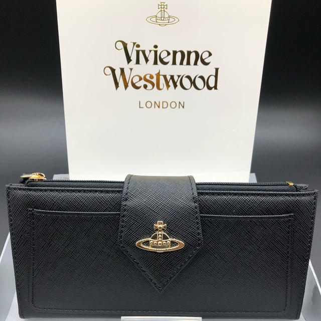 Vivienne Westwood - 【新品・正規品】ヴィヴィアンウエストウッド 長財布 906 黒の通販 by NY's shop|ヴィヴィアンウエストウッドならラクマ