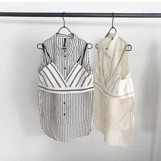 アウラアイラ(AULA AILA)のレイヤードシャツ(シャツ/ブラウス(半袖/袖なし))