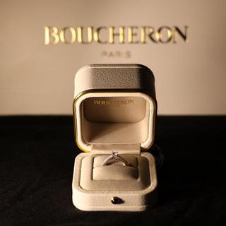 ブシュロン(BOUCHERON)のブシュロン 婚約指輪 7号(リング(指輪))