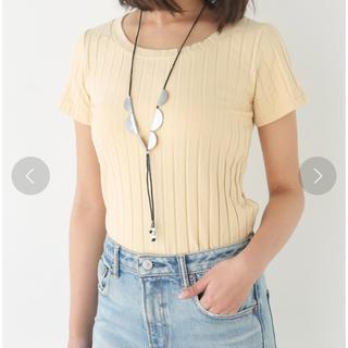 スライ(SLY)のSLY リブTシャツ(Tシャツ(半袖/袖なし))