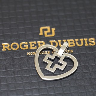 ロジェデュブイ(ROGER DUBUIS)のロジェデュブイ ROGER DUBUIS ハート×クロス  K18 WG 希少(その他)