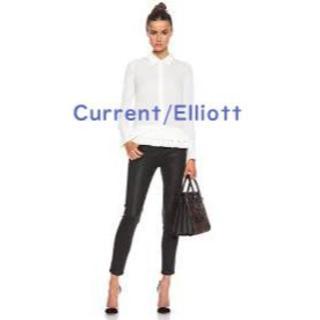 カレントエリオット(Current Elliott)の2. Current/Elliott 黒 スキニー 24インチ(デニム/ジーンズ)