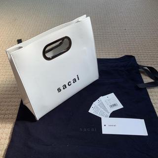 サカイ(sacai)の国内バーニーズ購入未使用品 19SS Sacai サカイ ショッパーズバッグ今期(ハンドバッグ)