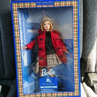 バーバリーブルーレーベル(BURBERRY BLUE LABEL)の美品‼️ バーバリーのバービー人形(ぬいぐるみ/人形)