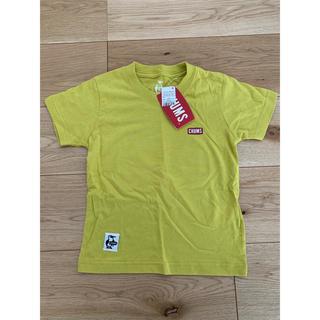 チャムス(CHUMS)のCHUMS ライムTシャツ 未使用 新品 キッズ M(Tシャツ/カットソー)