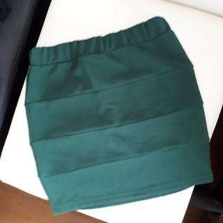 アベイル(Avail)のタイトスカート ミニスカート グリーン 緑(ミニスカート)