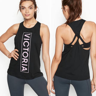 ヴィクトリアズシークレット(Victoria's Secret)の格安‼️早い者勝ち VSX 最新作タンクトップ ブラック  サイズはコメントから(タンクトップ)