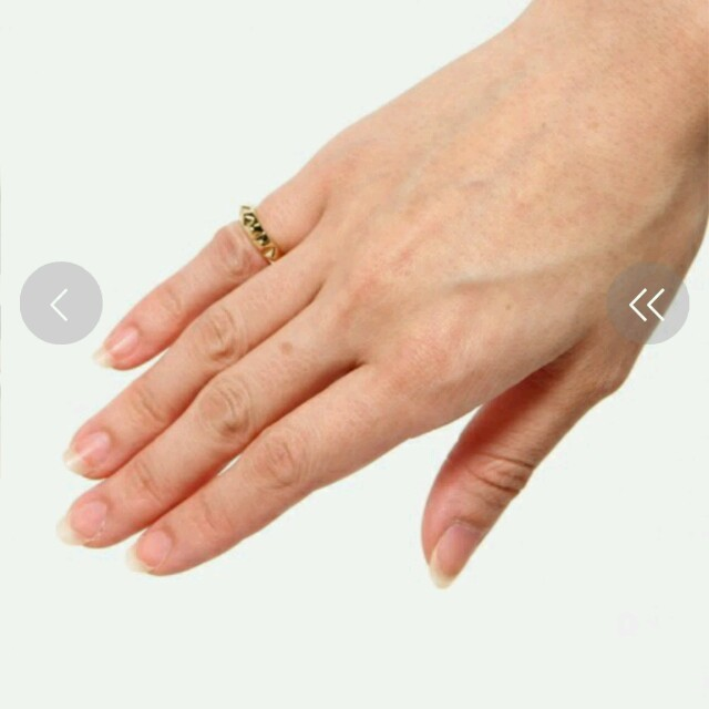 Ungrid(アングリッド)の専用☆ タグ付き新品スタッズピンキーリング レディースのアクセサリー(リング(指輪))の商品写真