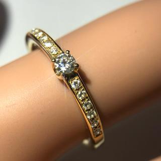 ヨンドシー(4℃)のRinka様専用    4°C リング ダイヤモンド 指輪 k18yg 18金 (リング(指輪))