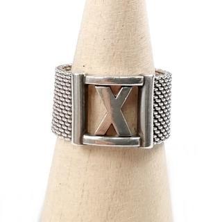 ティファニー(Tiffany & Co.)の希少 美品 ティファニー サマセット アトラス リング WK66(リング(指輪))