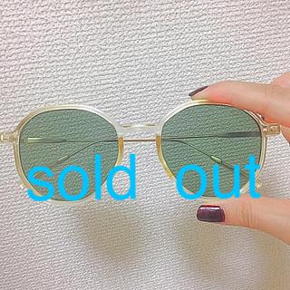 アメリヴィンテージ(Ameri VINTAGE)のBanila購入♡ヴィンテージ風サングラス(サングラス/メガネ)