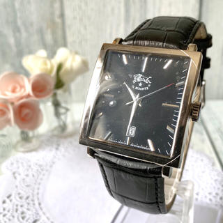 イルビゾンテ(IL BISONTE)の【未使用品】IL BISONTE イルビゾンテ 腕時計 スクエア(腕時計(アナログ))