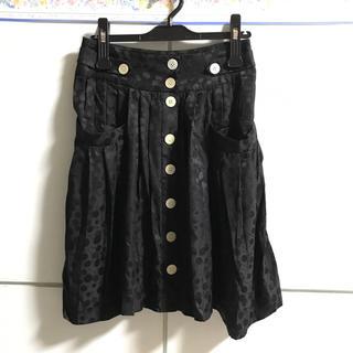 マークバイマークジェイコブス(MARC BY MARC JACOBS)のマークバイマークジェイコブス  スカート  黒(ひざ丈スカート)