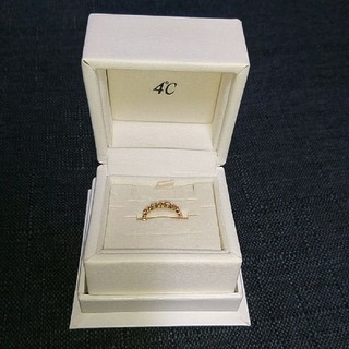ヨンドシー(4℃)の4℃ピンクゴールドリング(リング(指輪))
