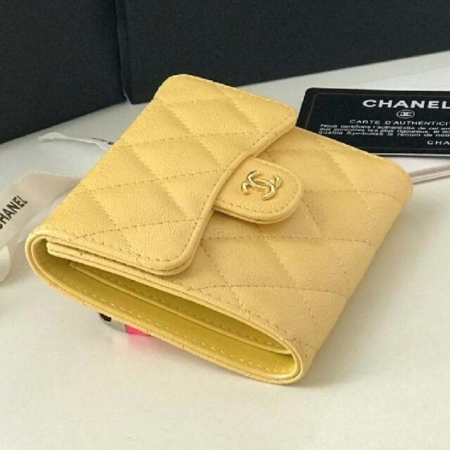 CHANEL - chanel折り畳み財布の通販 by Barton's shop|シャネルならラクマ