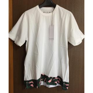 マルニ(Marni)の50新品 MARNI メンズ 総柄 プリント Tシャツ(Tシャツ/カットソー(半袖/袖なし))