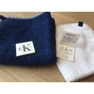 カルバンクライン(Calvin Klein)のタイムセール★Calvin Klein タオルハンカチ 2枚セット(ハンカチ)