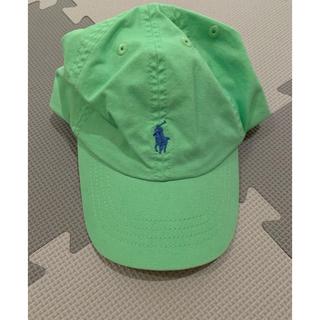 ポロラルフローレン(POLO RALPH LAUREN)の新品 ラルフポロキャップ(帽子)