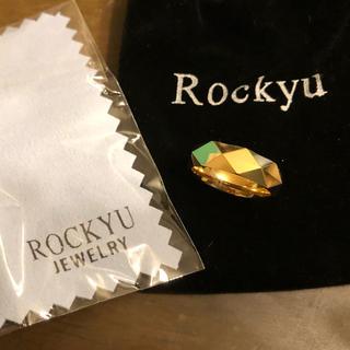 Rockyu タングステンゴールドリング(リング(指輪))
