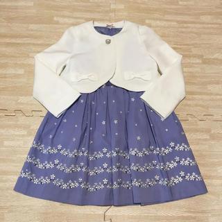 クミキョク(kumikyoku(組曲))の新品 120★組曲★フォーマルワンピース(ドレス/フォーマル)