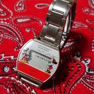 アルバ(ALBA)の国産メーカー ミッキー&ミニー デジタルウォッチ(腕時計(デジタル))