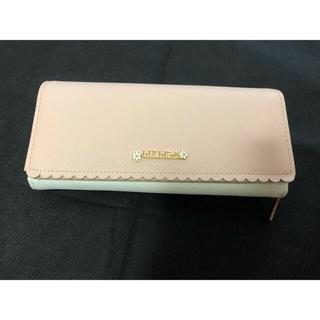 リズリサ(LIZ LISA)のリズリサ LIZLISA ピンク×白の長財布(財布)
