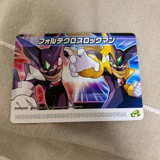 ゲームボーイアドバンス(ゲームボーイアドバンス)のフォルテクロスロックマン 改造カード ロックマンエグゼ(携帯用ゲームソフト)