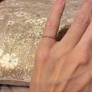 ノジェス(NOJESS)のノジェス  5粒ダイヤ ピンキー リング 1号(リング(指輪))