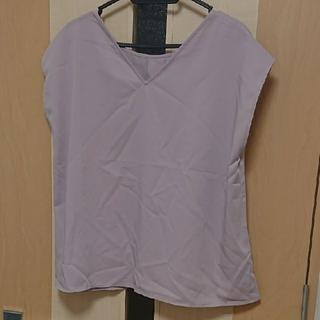 LLサイズ とろみ感◎前後2wayフレンチスリーブブラウス(シャツ/ブラウス(半袖/袖なし))