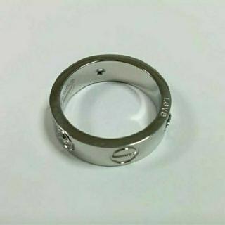 カルティエ(Cartier)の【19号 入荷しました】ビス リング トラベルジュエリー ホワイトゴールドカラー(リング(指輪))