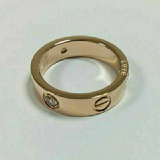 カルティエ(Cartier)のビス リング トラベルジュエリー ローズゴールドカラー(リング(指輪))