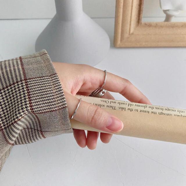 TODAYFUL(トゥデイフル)のSALE☺︎インポート リング S925 シルバー レディースのアクセサリー(リング(指輪))の商品写真