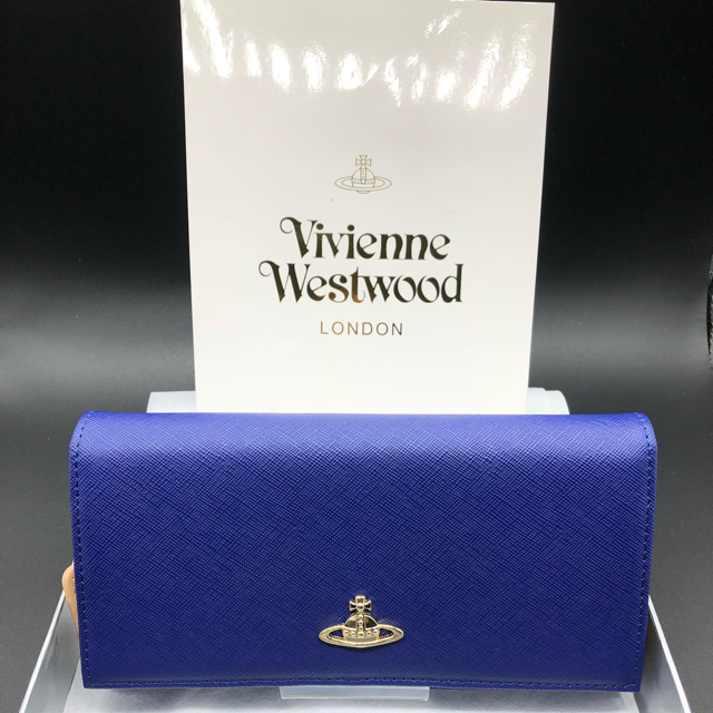 Vivienne Westwood - 【新品・正規品】ヴィヴィアンウエストウッド 長財布 406 青の通販 by NY's shop|ヴィヴィアンウエストウッドならラクマ