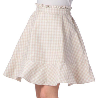 リズリサ(LIZ LISA)のリズリサ♡ギンガムチェックスカート(ひざ丈スカート)