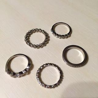 ディーホリック(dholic)のD-HOLIC 5連リング(リング(指輪))