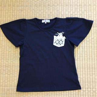 キャサリンコテージ(Catherine Cottage)の袖フレア半袖Tシャツ♡140(Tシャツ/カットソー)