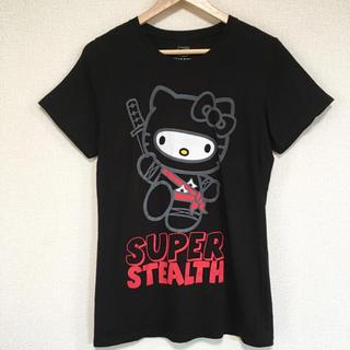 ハローキティ(ハローキティ)の忍者キティちゃん Tシャツ♪(Tシャツ(半袖/袖なし))