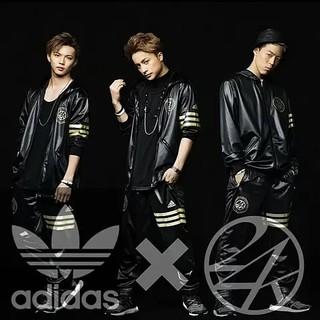 アディダス(adidas)のadidas アディダス × 24karats セットアップ ジャージ (ミュージシャン)