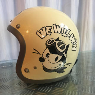 トイズマッコイ(TOYS McCOY)の専用 BUCO フェリックス FELIX 美品(ヘルメット/シールド)