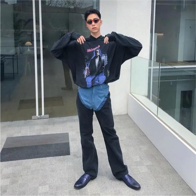 Balenciaga(バレンシアガ)のワイプロジェクト デニム購入希望 メンズのパンツ(デニム/ジーンズ)の商品写真
