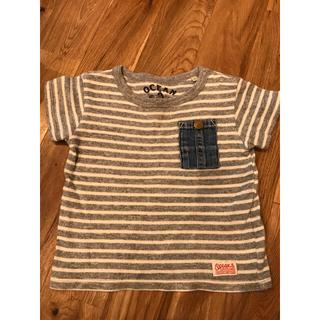 オーシャンアンドグラウンド Tシャツ 80