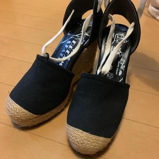 スライ(SLY)のSLY 紐付きサンダル サンダル 夏靴 ヒール レディース(サンダル)